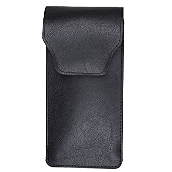 Slip In Glasses Case - PU Leather Pouch with Pocket Clip
