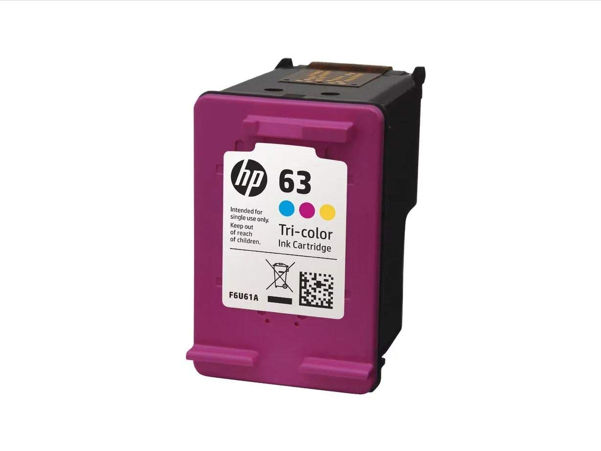 HP 63 Ink Combo Cartridges L0R46AN HP 63 Black & HP 63 Tri-Color HP Ink Cartridges (F6U62AN,F6U61AN) for HP HP OfficeJet 5258 All-in-One Printer Printer by Parts Map (Image #3)