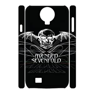 Classic Case Avenged Sevenfold pattern design For Samsung Galaxy S4 I9500(3D) Phone Case