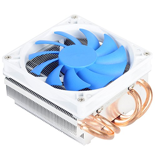 Silverstone Tek Low-Profile Heatsink CPU Cooler with 92mm PWM Fan, Four 6mm Heat Pipes, Intel LGA1155/1156/1150 and AMD AM2/AM3/FM1/FM2 AR06