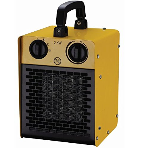 Large Electric Greenhouse Heater Outdoor Garden Anti Frost Plant Warmer 1-2kw S&MC Gardenware