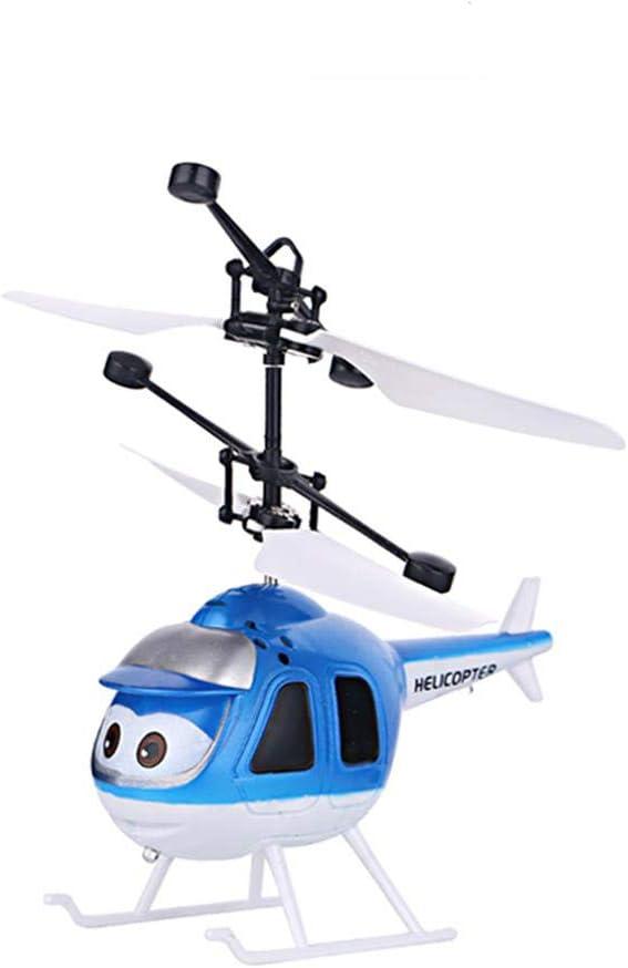 CHwares - Mini dron para niños con control manual y bola de inducción por infrarrojos, con LED