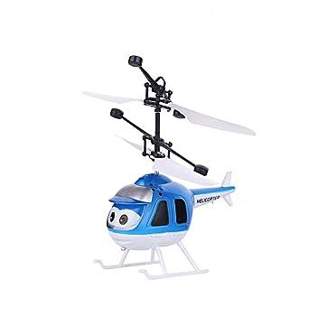 CHwares - Mini dron para niños con control manual y bola de ...