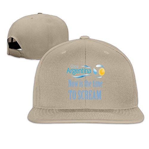 Unisex To Scream Argentina Adjustable Snapback Baseball Caps 100%cotton Natural One Size (Snake Juice Game)