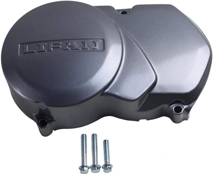 LIFAN Parts Left Side Engine Flywheel Magneto Cover Grey for 125-160cc Pit Bike