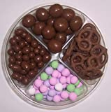 Scott's Cakes 4-Pack Chocolate Dutch Mints, Chocolate Pretzels, Chocolate Malt Balls, & Chocolate Peanuts