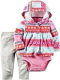 Carter's Baby Girls/Toddlers' 3 Piece Jacket/Pants/Bodysuit Set (18 Months)