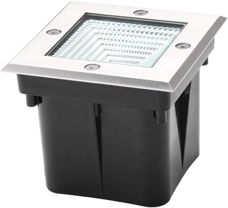 AMDHZ 埋葬ライトLED埋め込み景観ライト信頼性の高い保存の心配芝生コーナー橋グラウンドランプ、ウォームホワイトライト、4W6W (Color : A, Size : 6W)