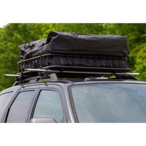 3pc Roof Rack Cargo Kit with Roof Basket, Load Bars & Storage Bag (Bundle) by Rage Powersports (Image #2)