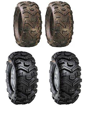 Quadmaxx Lot de 4/pneus pour quad Duro Buffalo 25/x 8/x 12 25/x 10/x 12 Marquage E