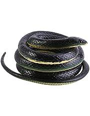Serpiente de Goma Juguete de Serpiente Regalo Interesante Juguete Broma para Holloween 130cm