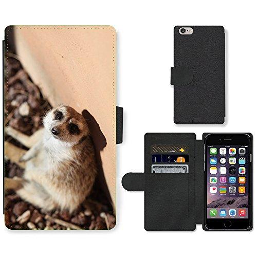 "GoGoMobile PU Leather Flip Custodia Protettiva Case Cover per // M00123808 Faune Faune mondiale // Apple iPhone 6 4.7"""