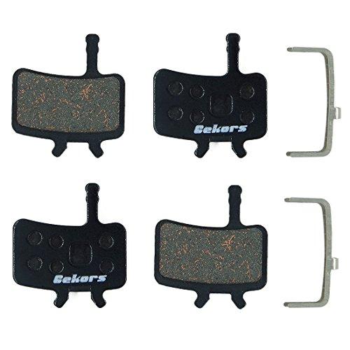 Gekors Semi-Metallic Bicycle Disc Brake Pads for Avid BB7/All Juicy, 2 Pairs