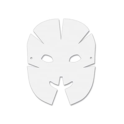 Creativity Street Die Cut Dimensional Masks, 10.5-in. x 8.25-in., 40 Pack (AC4652): Toys & Games