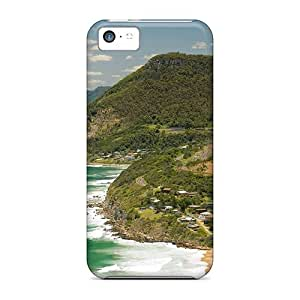 Hot Tpu Cover Case For Iphone/ 5c Case Cover Skin - Stanwell Park 7336