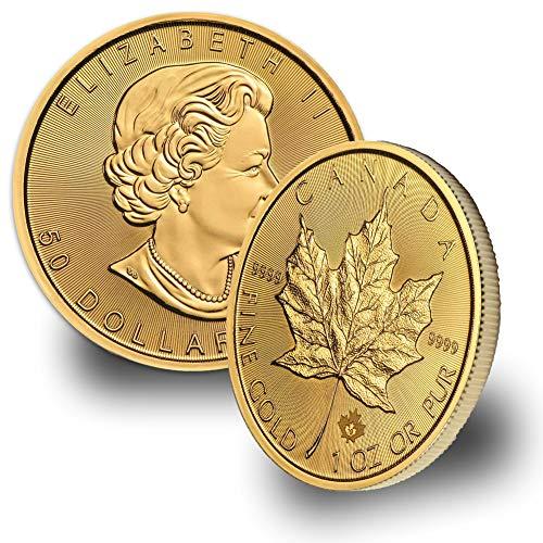 2019 CA 1oz Gold Maple Leaf $50 Brilliant -
