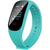 Aikwoo Fitness Tracker, cardiofrequenzimetro Fitness Tracker, IP67Impermeabile indossabile Smart Braccialetto attività Tracker Bluetooth contapassi con Sonno Monitor per Bambini Uomini e Donne