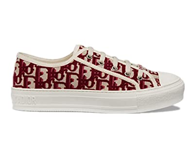 46a7df74 Amazon.com   Womens Shoes Sneaker in Oblique Embroidered Canvas Dior ...