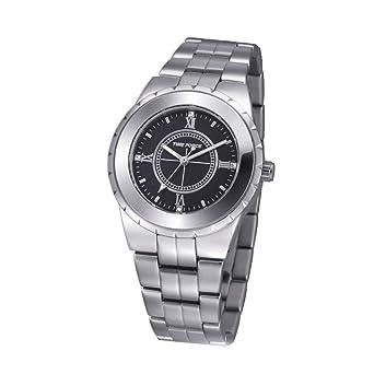 Time Force Reloj Analógico para Mujer de Cuarzo con Correa en Acero Inoxidable TF3398L01M: Amazon.es: Relojes