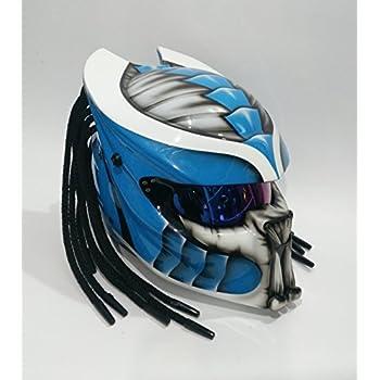 Pro Predator Helmet Custom Predator Motorcycle DOT ECE Helmets SY07 Model (XXL)