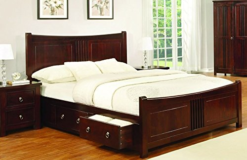 more photos 723c8 c96f7 Sweet Dreams Mahogany Drawer Bed Frame 180cm Super King Size 6FT Solid Wood