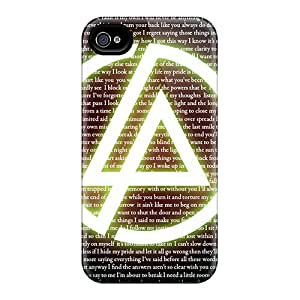 Iphone 4/4s EOo3175Oouj Provide Private Custom Trendy Linkin Park Pattern Shock Absorbent Hard Phone Cover -AaronBlanchette