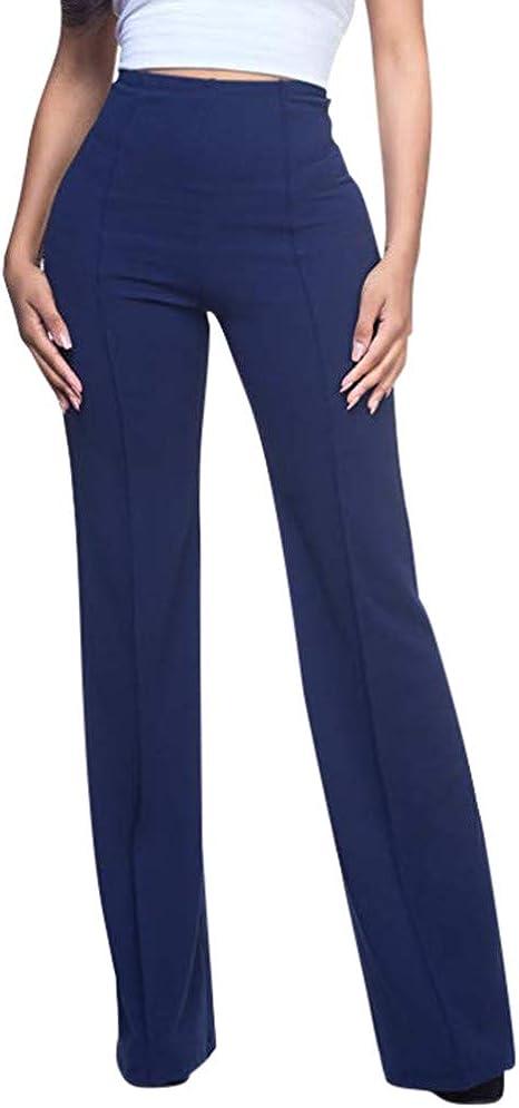 Ropa Premama Pantalones Mujer De Vestir Elegantes Pantalones Elasticos Y Cintura Alta Pantalones Fluidos Pantalones Casual Comodo Elegantes Fiesta Negocios Yvelands Ropa Brandknewmag Com