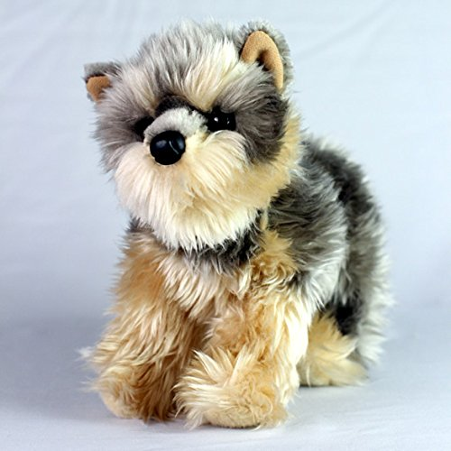 (Small Yorkie / Cairn Terrier - Stuffed Animal Therapy for People with Memory Loss from Aging and Caregivers)