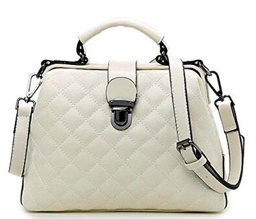 Nuevo Paquete Messenger Bag Ladies Handbag Bolso Femenino Bolsos Para Mujer White