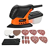 Mouse Detail Sander, EnerTwist 13000OPM Lightweight Compact Sander with Dust Collection Box for Tight Corner and Small Hard-to-reach Areas Sanding Polishing in Home Decoration, DIY, ET-DS-100