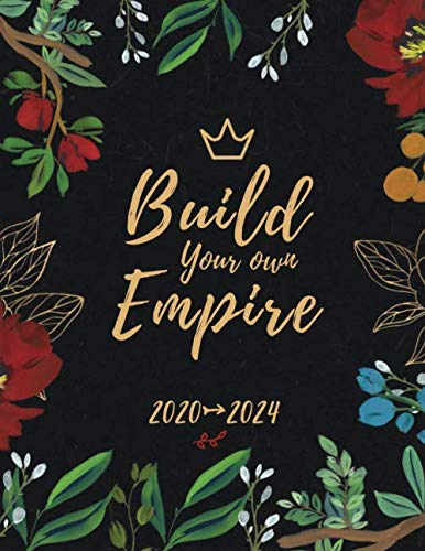 Build Your Own Empire: Five Year Planner | Monthly Schedule Organizer and 5 Year Calendar with Holidays (2020-2024 Monthly Planner)
