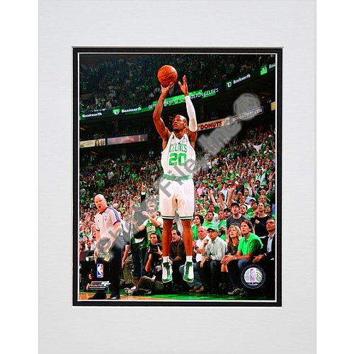 Photo File Boston Celtics Ray Allen 2008 Finals Game 6 Action 8x10 Matted Photo