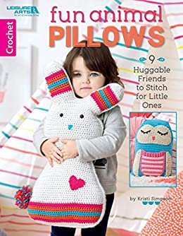 Fun Animal Pillows Huggable Friends ebook product image