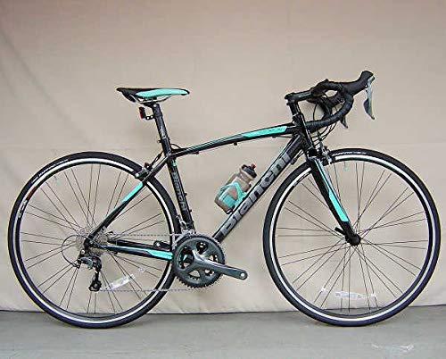 Bianchi (ビアンキ) ロードバイク VIA NIRONE 7 PRO TIAGRA (ニローネ ティアグラ) 2018モデル (ブラック) 50サイズ B07L1PGMP5
