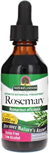 Nature's Answer Rosemary Leaf with Organic Alcohol, 2-Fluid Ounces