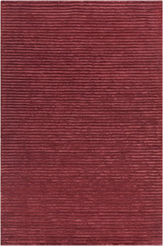 Chandra Rugs Angelo Area Rug, 93-Inch by 126-Inch, Red