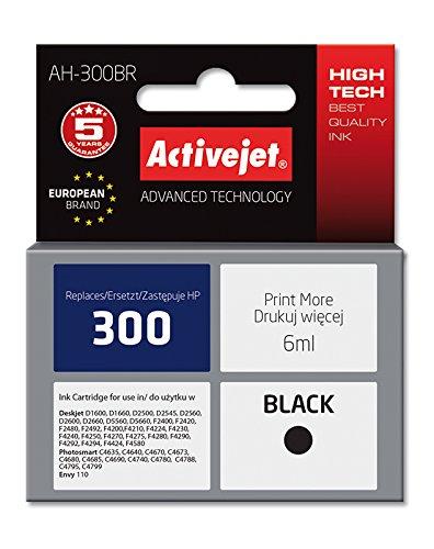 ActiveJet AH-300BR cartucho de tinta Compatible Negro 1 pieza(s ...