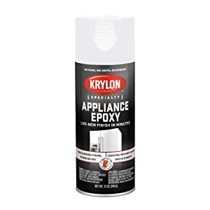 Sherwin Williams K03201 Krylon Appliance Epoxy, White, 12 oz