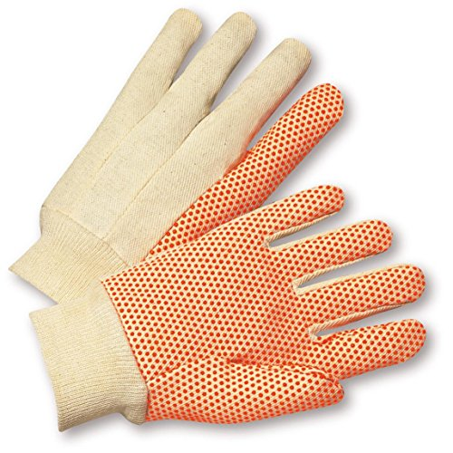 Pvc Dotted Cotton Glove - 8
