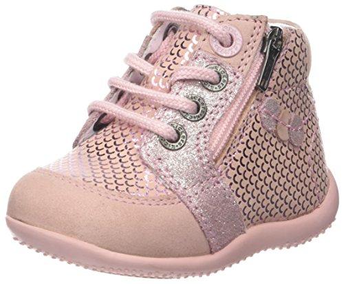 nouvelle apparence les ventes chaudes grande sélection Kickers Girls' Baraka Slouch Boots, Pink (Rose 13), 5.5 UK ...