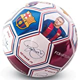 FC BARCELONA SIZE 5 PLAYER PHOTO & SIGNATURE BALL INCLUDES MESSI & NEYMAR!