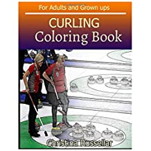 CURLING Coloring Book For Adults and Grown ups: CURLING  sketch coloring book  , Creativity and Mindfulness 80 Pictures