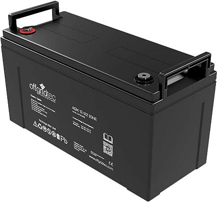 da 32/Ah a 260/Ah batteria AGM uso ciclico Offgridtec