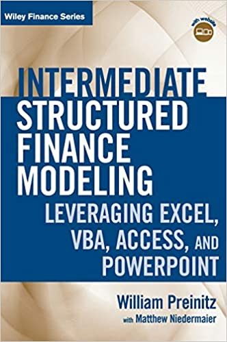 Intermediate Structured Finance Modeling, with Website