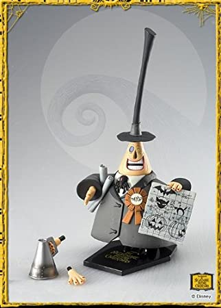 Amazon.com: The Nightmare Before Christmas Mayor, Series 1 Action ...