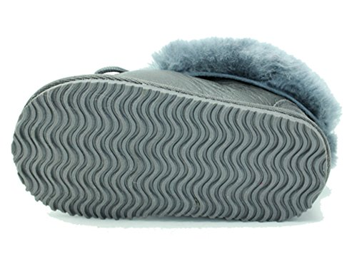 Cool Beans Sheepskin Childrens Slippers Warm Fur Winter Boots (Boys, Girls: Baby / Toddler size 5) by CooL BeanS (Image #2)
