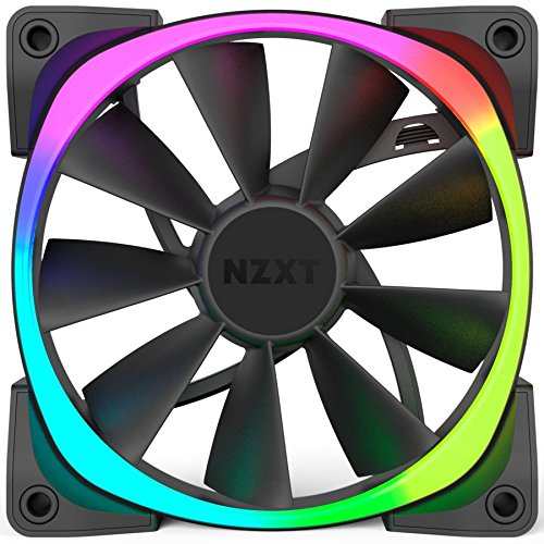 NZXT HUE+ & Aer RGB140 Fans Bundle Pack RGB 2x 140mm Aer Fans Included by Nzxt
