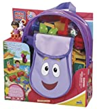 Mega Bloks Dora's School Time Backpack