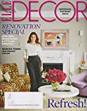 img - for Elle Decor March 2016 Refresh! Marisa Tomei Her Private Empire book / textbook / text book
