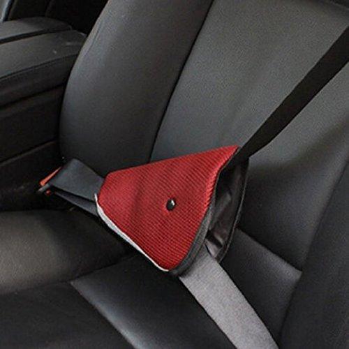 Ajusteur de ceinture de sécurité pour enfant, protège-ceinture de sécurité pour enfant, protège-enfant pour épaississement de harnais (couleur aléatoire) protège-ceinture de sécurité pour enfant